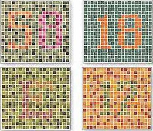 Medical Pictures Info Color Blindness Chart
